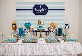 baptism decoration ideas boy baptism party ideas celebrations in the catholic home blue