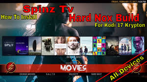 how to install the krypton hard nox build from spinz tv step by