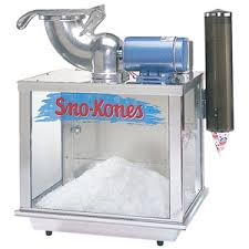 snow cone rental concession specials