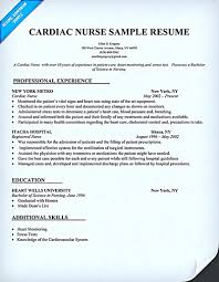 Best Resume For Nurses Nurse Resume Samples Sample Resume And Free Resume Templates