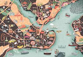 Istanbul World Map by Citix60 Istanbul Map Illustration On Behance