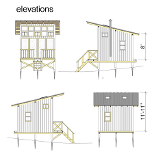 cabin plan elevated cabin plans