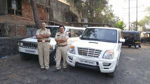 stretched out scorpio seized by vashi rto official indian cars bikes