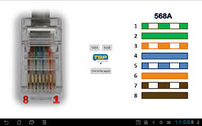 ethernet rj45 wiring pinout and colors android apps on google play