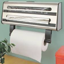 Kitchen Roll Cling Film Tin Foil Dispenser Home Design Ideas And