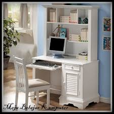 Girls White Desk With Hutch by 18 Best Meja Belajar Images On Pinterest Buffets Desk And Desks