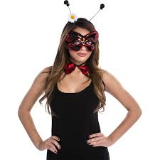 ladybug women u0027s halloween dress up role play costume kit
