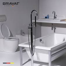 Lead Bathtub Stylish Long Spout Floor Stand Bathtub Faucet Lead Tolerance