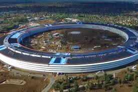 watch the latest drone video of apple u0027s new 5 billion cupertino