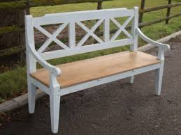bench order bespoke reclaimed pine painted chelsea bench with a 3 plank seat