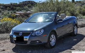 volkswagen convertible eos used 2007 volkswagen eos base review rnr automotive blog