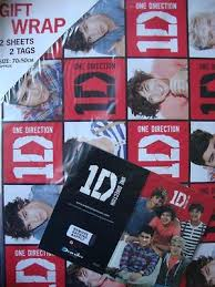 one direction wrapping paper 1d collection on ebay