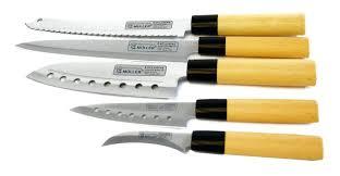couteau de cuisine japonais set couteaux de cuisine couteaux de cuisine japonais set de 5 pieces