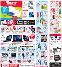 Office Depot Office Depot Office Max Weekly Ad Preview 7 30 17 8 5 17