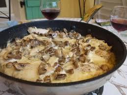 cuisine recette poulet recette poulet sauce forestière toutes les recettes allrecipes