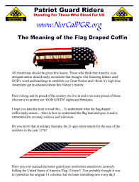 American Flag Meaning Norcalpgr Us Flag Folding Meaning