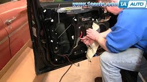 How To Replace Install Front Window Regulator And Motor Part 1