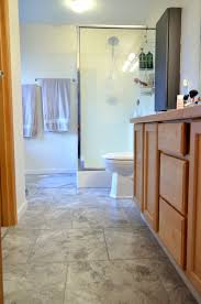 Groutable Vinyl Floor Tiles by Easy Update To Bathroom Floors Simply Darr Ling