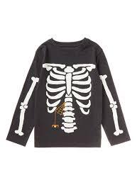 skeleton t shirts halloween all boy u0027s clothing black halloween glow in the dark skeleton tee