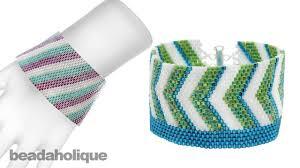 beading bracelet size images Instructions for making the beadaholique peyote bracelet kits with jpg
