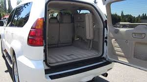 lexus white interior 2007 lexus gx470 white stock 13610c interior youtube