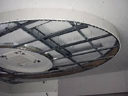 controsoffitto in cartongesso fai da te foto l anteprima di una struttura per cartongesso per un soffitto