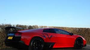 Lamborghini Murcielago 4x4 - low mileage lamborghini murcielago sv rosso mars up for grabs in uk