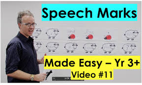 how to use speech marks youtube