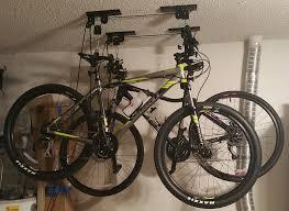 Bicycle Ceiling Hoist by Blog Rad Garage Storage Heavy Duty Bike Hoist Lift Review Urban