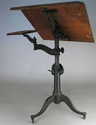 Industrial Work Table by Best 25 Antique Drafting Table Ideas On Pinterest Drafting Desk