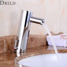 popular motion sensor faucet buy cheap motion sensor faucet lots motion sensor faucet bathroom faucet single handle automatic hand touchless tap hot and cold mixer bathroom
