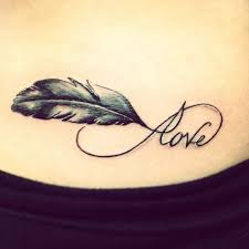 small feather anchor meaning design idea for