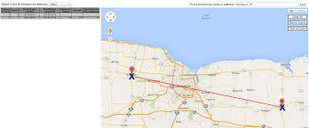 Map Distance Calculator Google Maps Radius Rings Cartagram