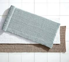 Jute Bath Mat Crochet Bathroom Rug Crochet Edge Teal Bath Rug Crochet Edge Bath