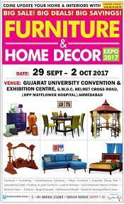 Home Decor Ahmedabad Furniture And Home Decor Expo 2017 Ad Advert Gallery
