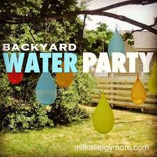 Backyard Birthday Party Ideas For Adults by Best 25 Water Birthday Parties Ideas On Pinterest Splash Party