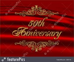 greetings for 50th wedding anniversary cards and posters 50th wedding anniversary invitation stock
