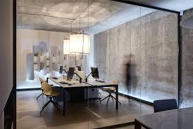 concrete interior design design studio materia 174 office space interiorzine