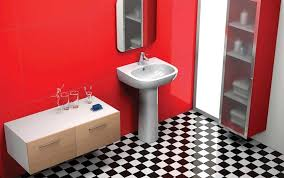 Black And White Checkered Tile Bathroom Simple Remodel Chess Floors Can Change The Game