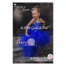 robe de mariã e bleu turquoise robe tutu bébé fille enfant