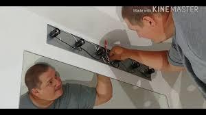 how to diy change a bathroom light fixture youtube