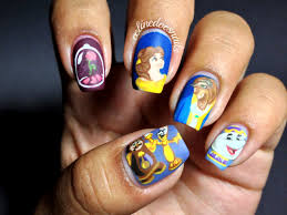 nailgasmdoc these beauty and the beast nails