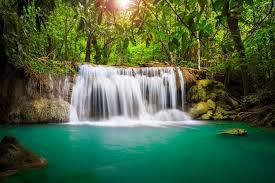 Waterfall Backyard Creative Design Landscape Waterfalls Exciting Landscape Waterfall