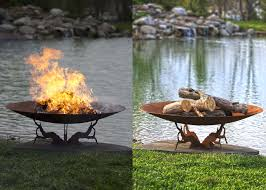 Metal Firepit 35 Metal Pit Designs And Outdoor Setting Ideas