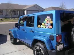 jeep safari moab utah ut vinyl sticker decal jeep safari jamboree 4x4 offroad