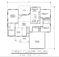 ranch style house plan 3 beds 2 00 baths 1600 sq ft 21 143