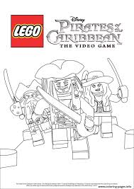 lego pirates disney pirates caribbean coloring pages printable