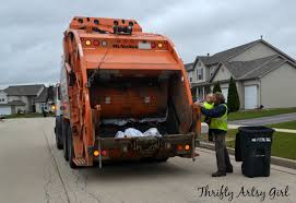garbage trucks for kids surprise take out the trash diy toddler sized wheeled trash can and