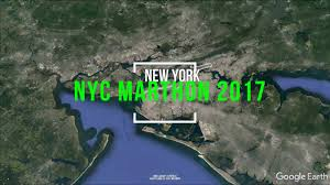 New York City Marathon Map by New York City Marathon 2017 Course Preview Google Earth Vr