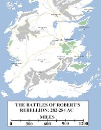 Walter Reed Map Historical Map 24 Robert U0027s Rebellion Atlas Of Ice And Fire